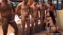 Reality show de putaria de gostosa com vários homens
