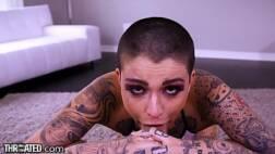 Porno do brasil gata tatuada na sacanagem