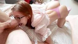 Sexopornodoido branquinha linda fazendo anal com o namorado