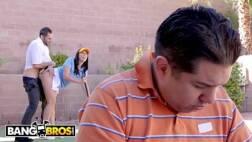 Empregado sacana comendo a mulher gostosa do seu patrão