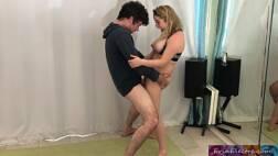 Filme de sexo gostoso fudendo a professora de dança